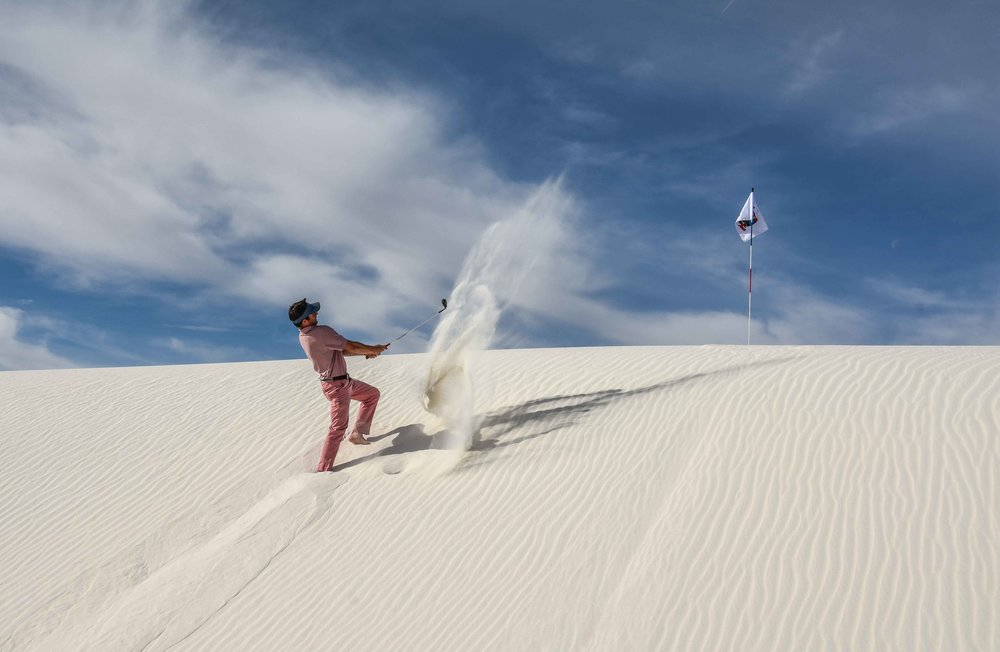 White Sands National in New Mexico