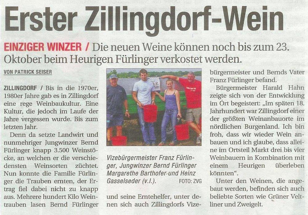 Niederösterreichische Nachrichten - Oktober 2011