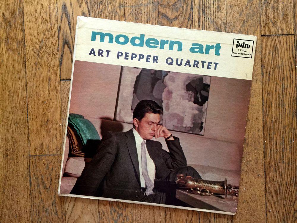 """Modern Art""...one of Pepper's best albums."