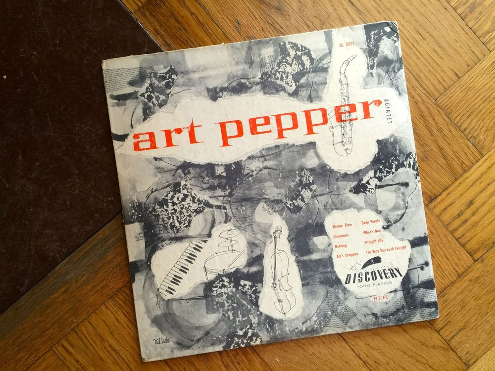 "Art Pepper 10"" rarity on Discovery"