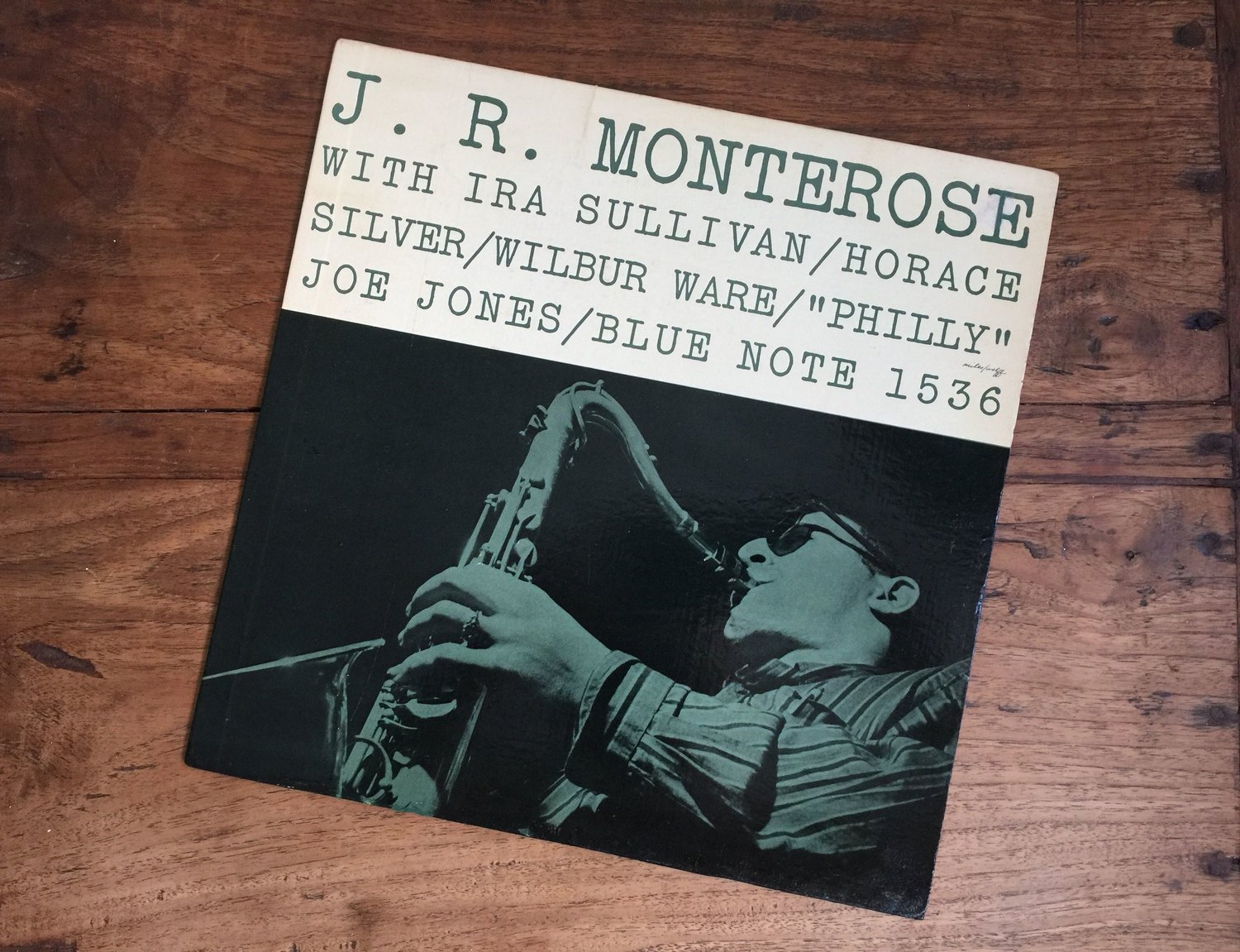J.R. Monterose on Blue Note 1536