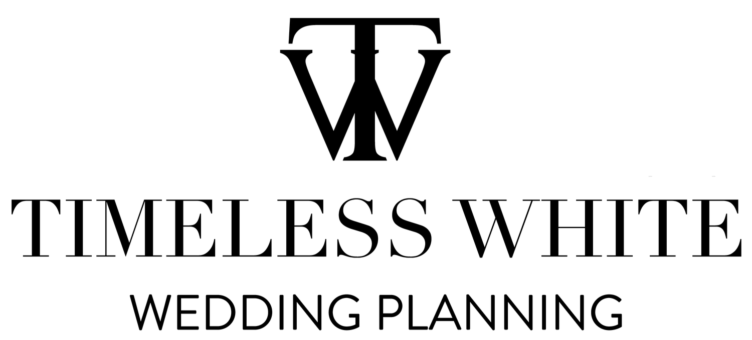 Timeless White Wedding Planning Scotland