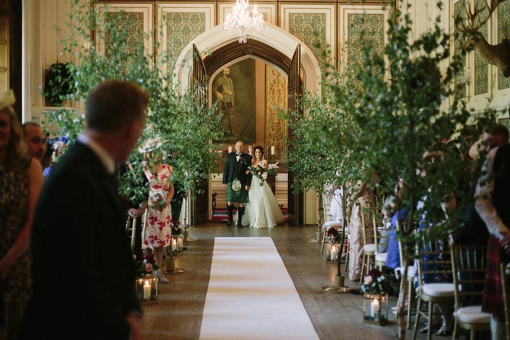 LUXURY CASTLE WEDDING IN THE GLENS