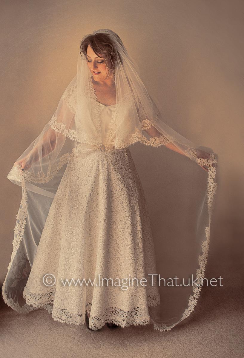 Real Bride - Bespoke Veil