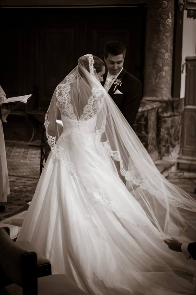 Real Bride - Bespoke Veil