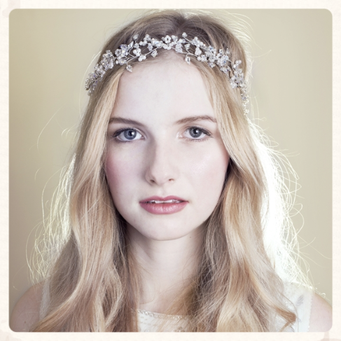 Find the perfect finish to your wedding outfit with Rosie Willett Bridal Tiaras and Jewellery