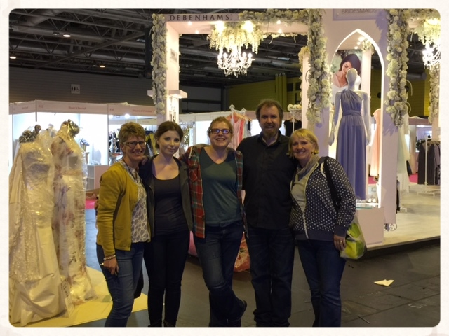 Out National Wedding Show team!
