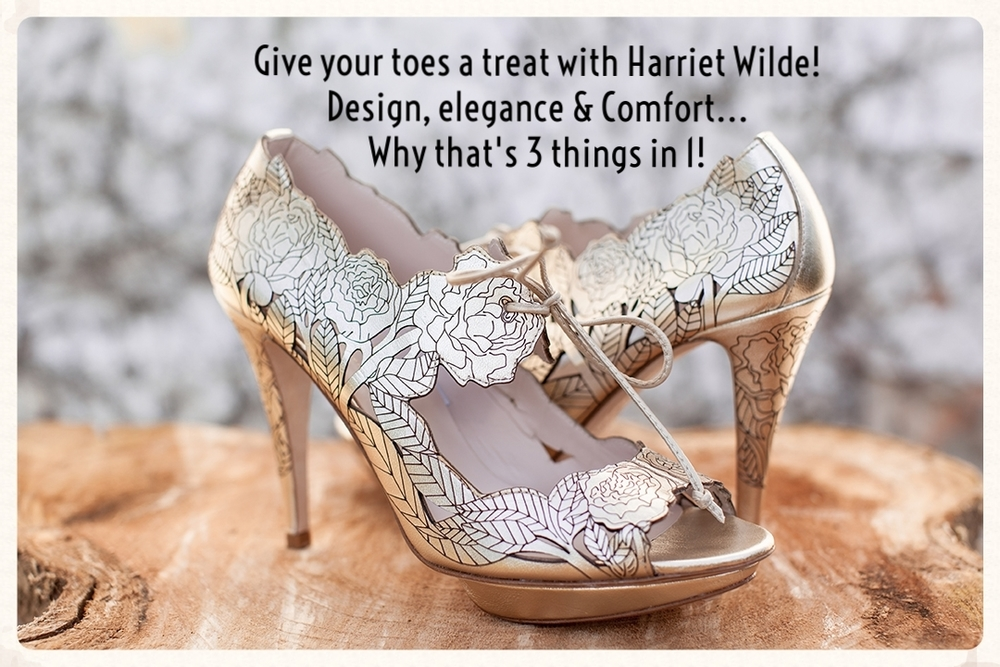 Love your accessories? Take a peek at the Harriet Wilde footwear collection
