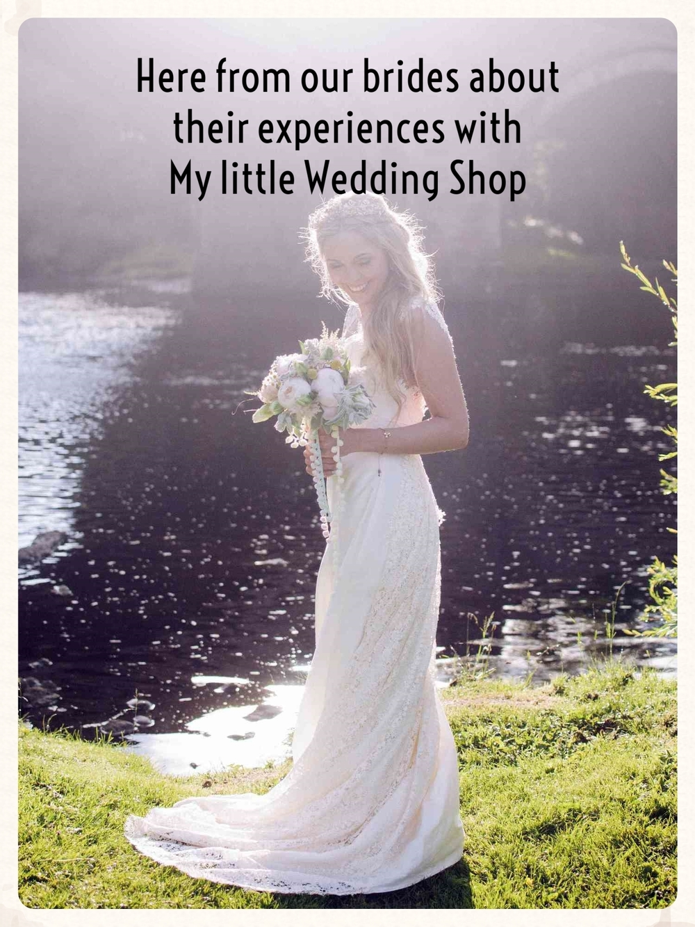 Here from our brides about their experiences with My little Wedding Shop