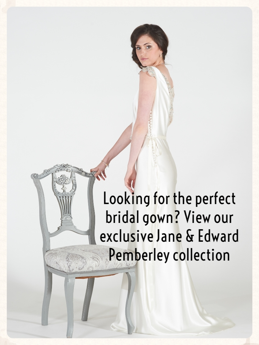Looking for the perfect bridal gown? View our exclusive Jane & Edward 2014/15 collection