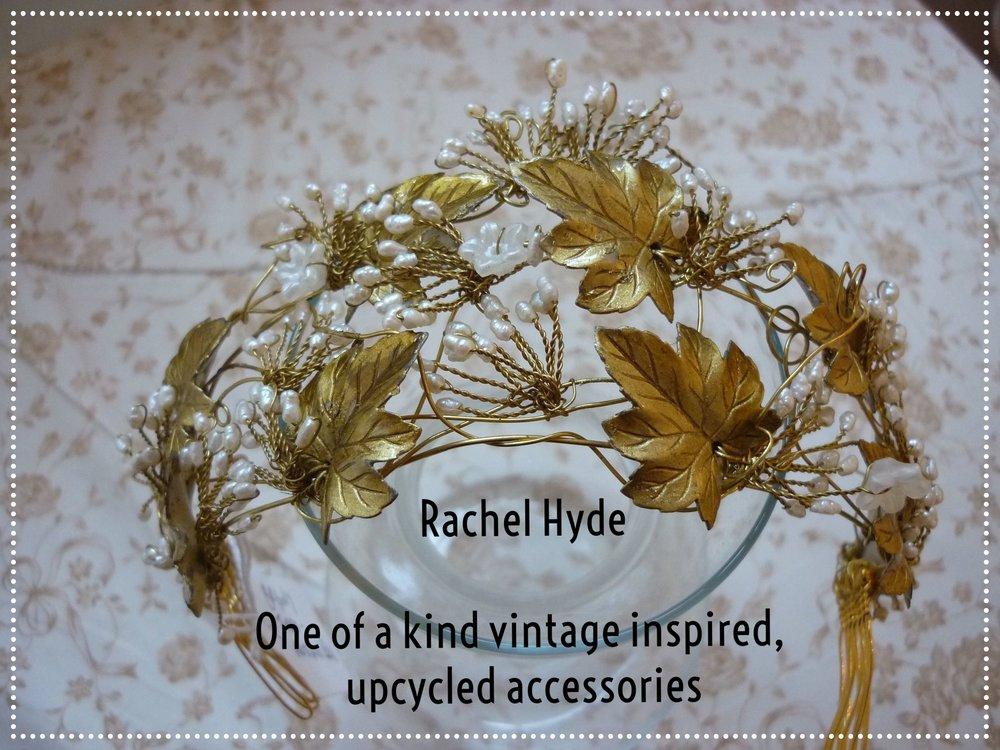 Rachel Hyde Vintage Inspired Bridal Tiaras