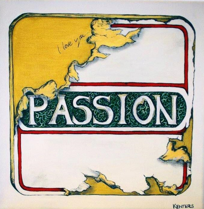 Passion and Love on a Pub Beer Mat
