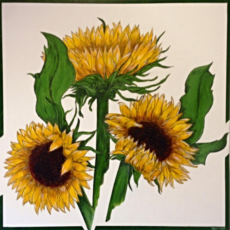 Ah Sun-flower! weary of time..
