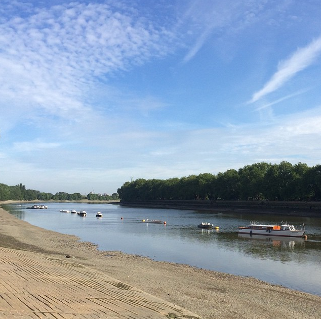 The Thames at Putney