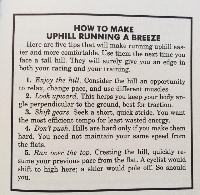 From 'Run Fast: How to train for a 5k or 10k race' by Hal Higdon