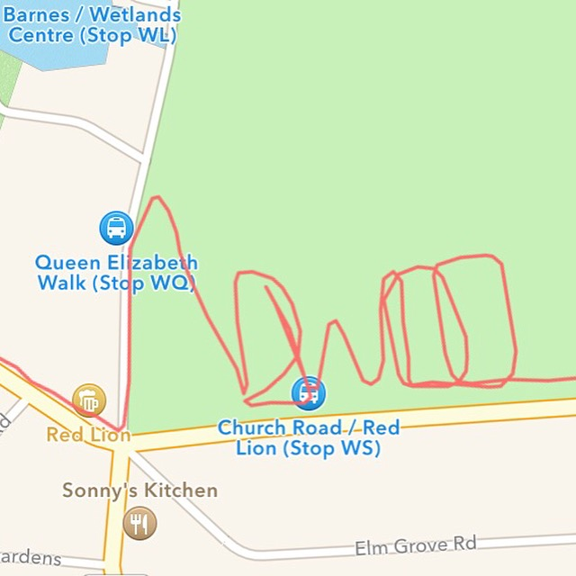 My dedication to the NDW100 runners. Turns out Strava art is harder than it looks.