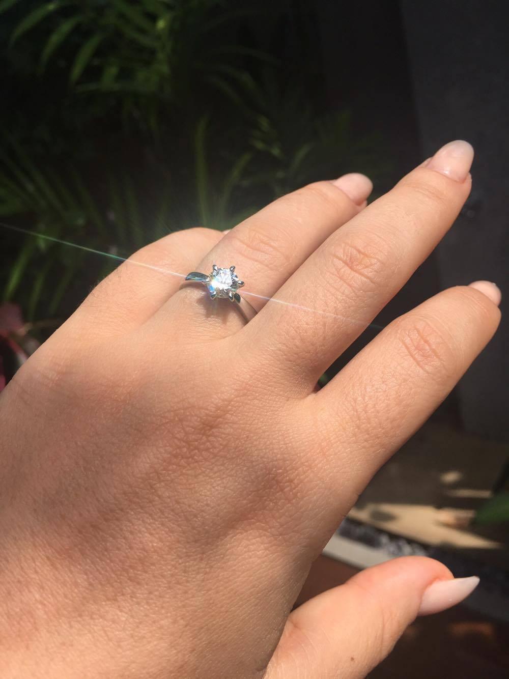 alona kuusisto diamond ring