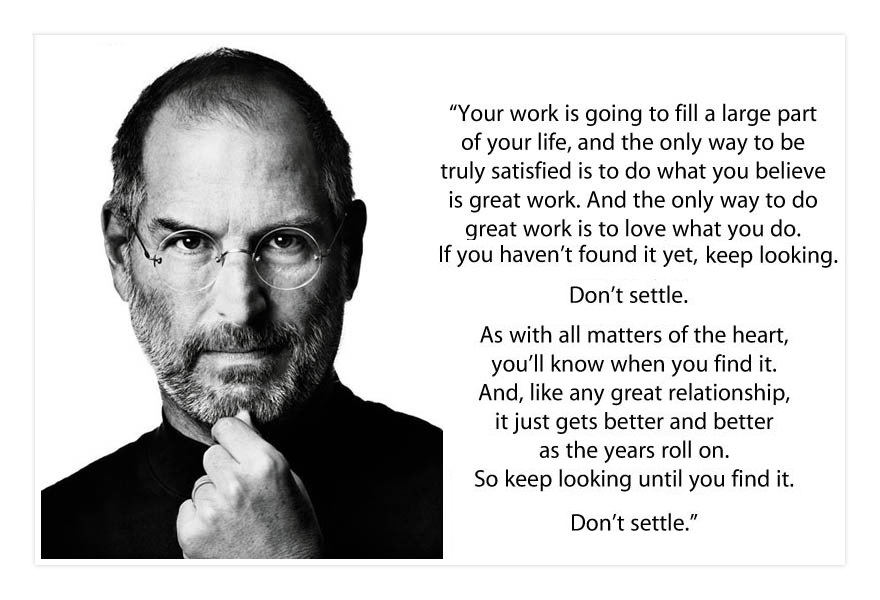 do what you love steve jobs