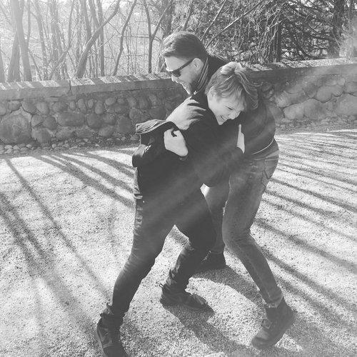 Daniel ja isäpuoli Arttu <3
