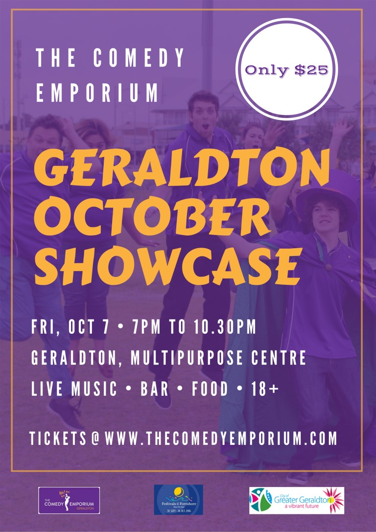 The Comedy Emporium Geraldton October Showcase