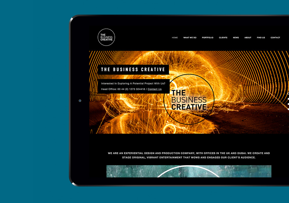 The Business Creative Website