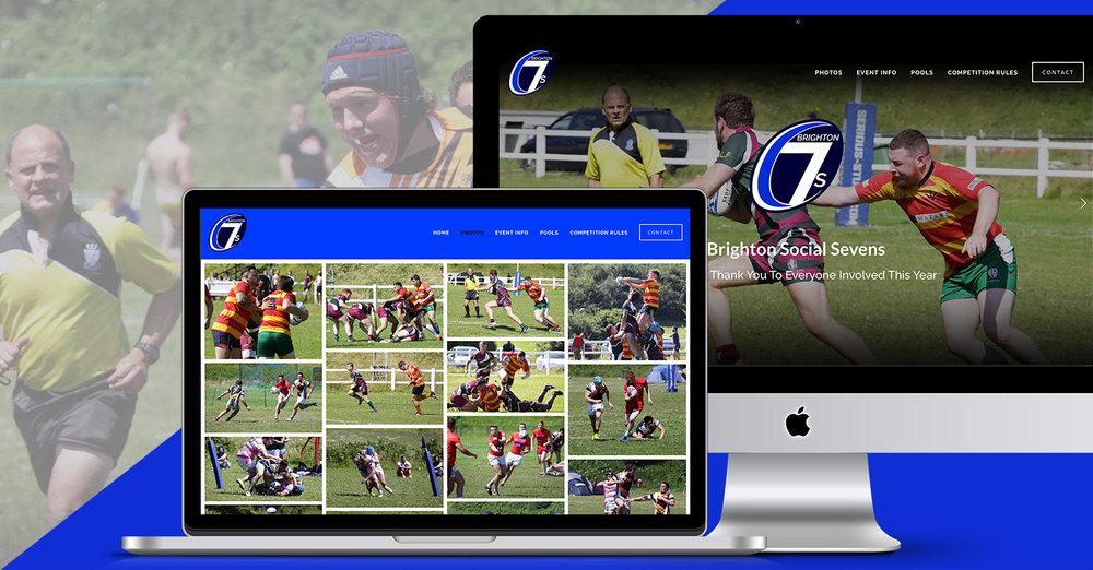 Brighton 7s Branding & Website Design