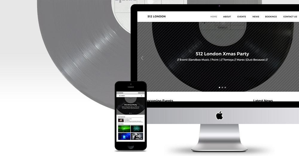 512 London Website