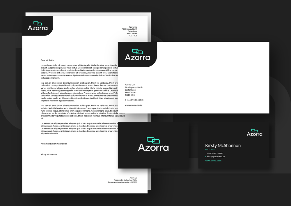 Azorra Branding