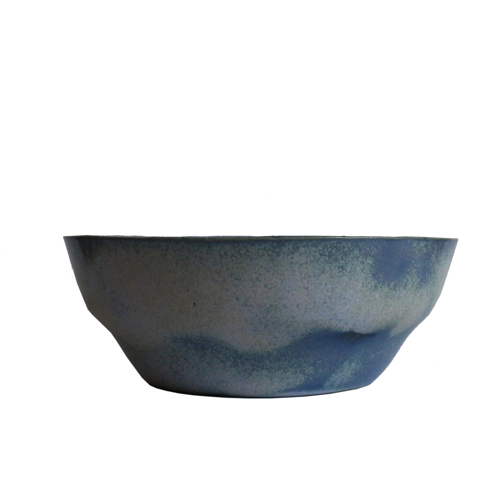 Large Bowl, Baltic Blue