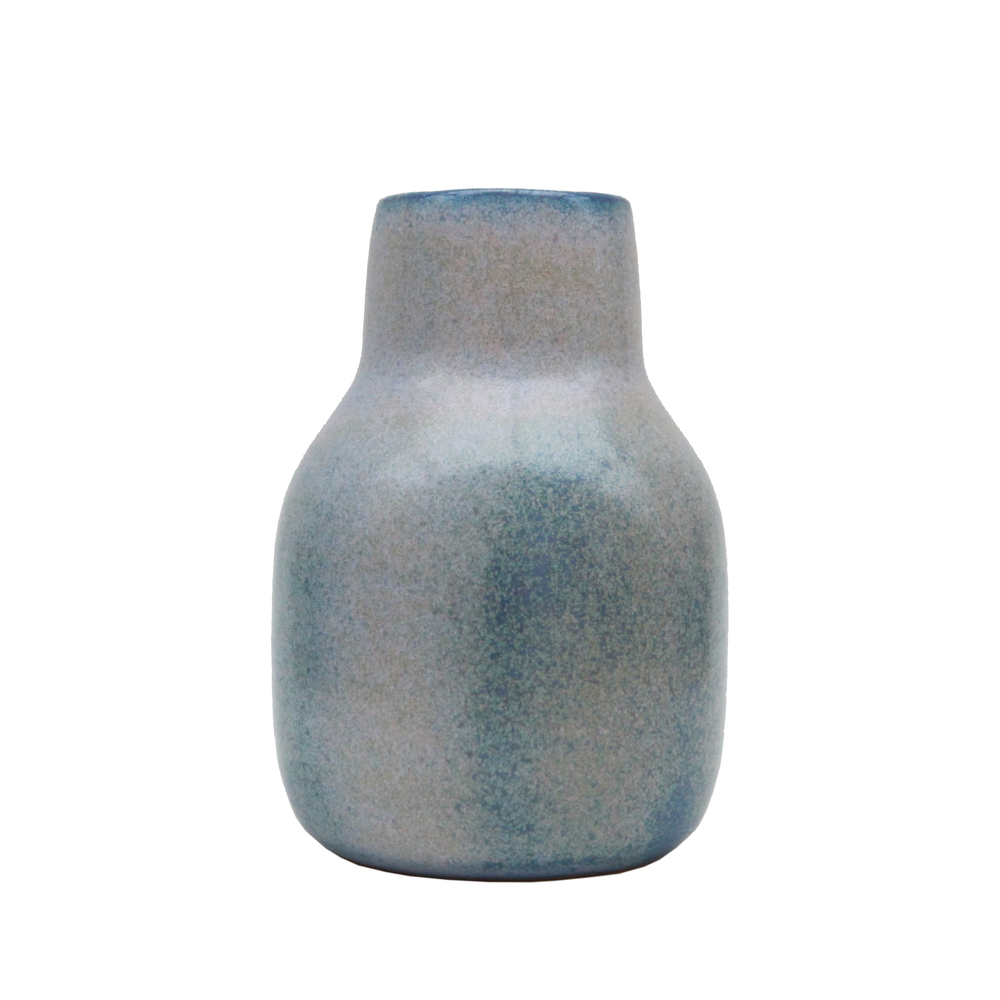 Medium Vase, Baltic Blue