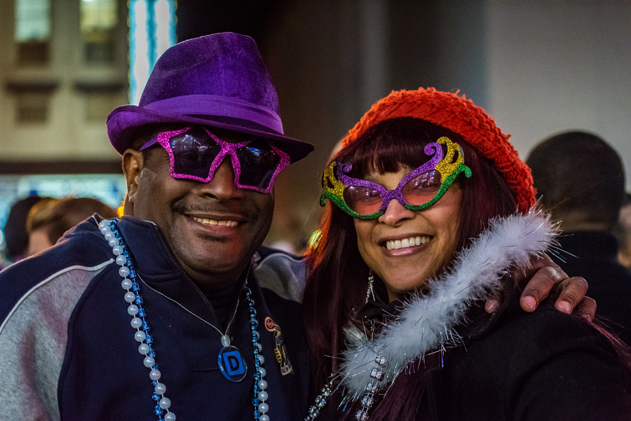 Love at Mardi Gras