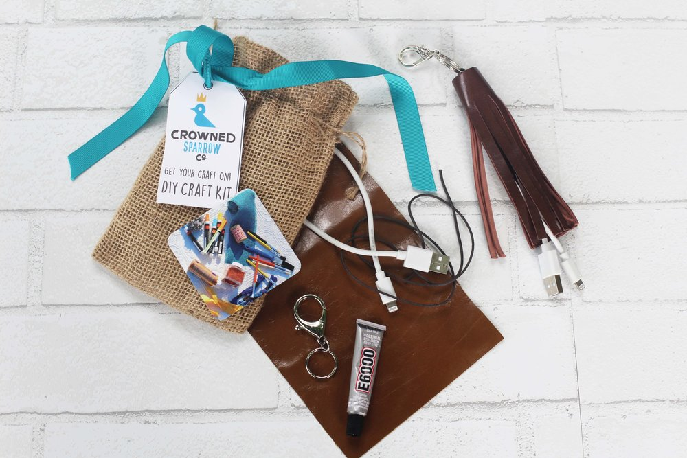 Leather Charger Keychain Kit.jpg