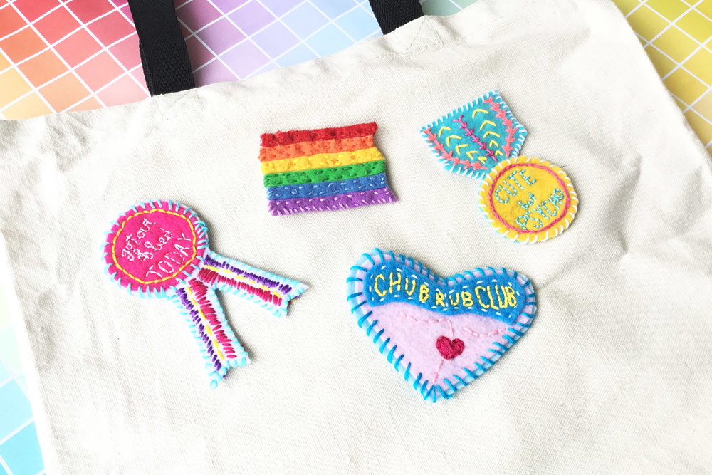 Crafty Hour at Petras Sassy Patches Make Your Own Patch
