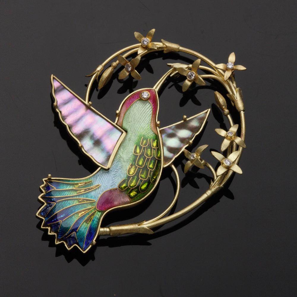 Hummingbird Pin/Pendant