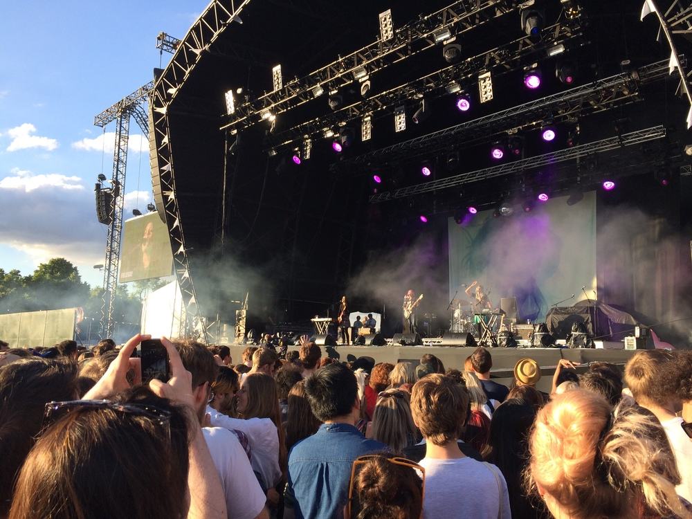 Warpaint - Field Day 2014