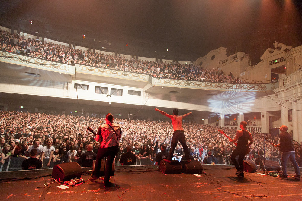Alexisonfire at Brixton Academy - Farewell Tour
