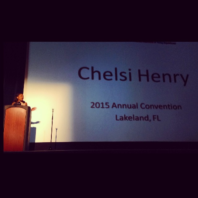 Chelsi Speaking in Lakeland