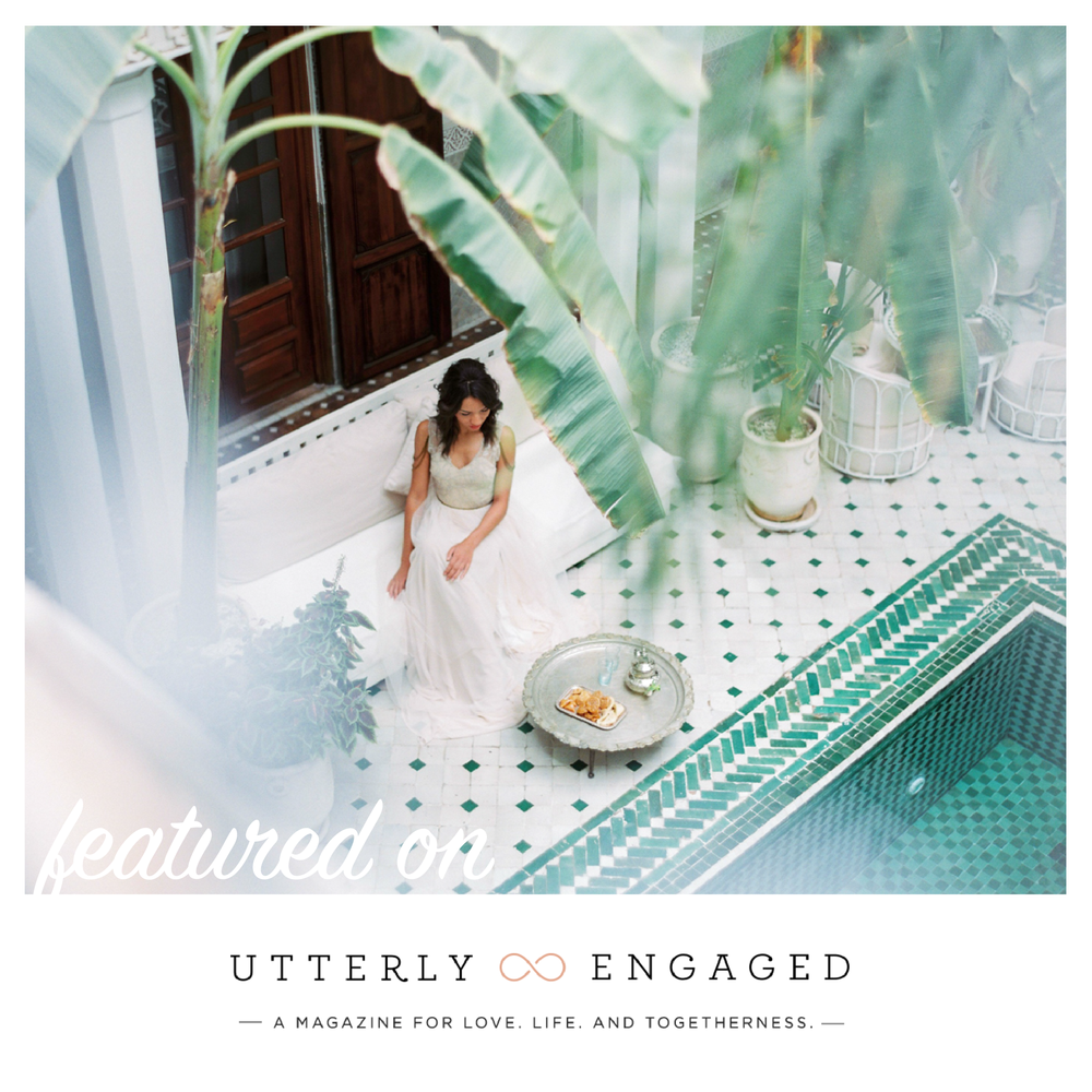 The Wedding Boutique featured on Utterly Engaged • The Wedding Boutique • Structure your wedding planning • www.thewedboutique.com