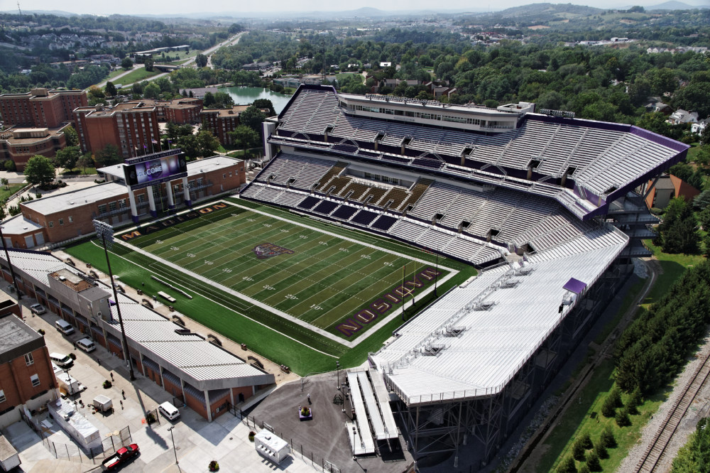 JMU Athletics Bridgeforth Football Stadium