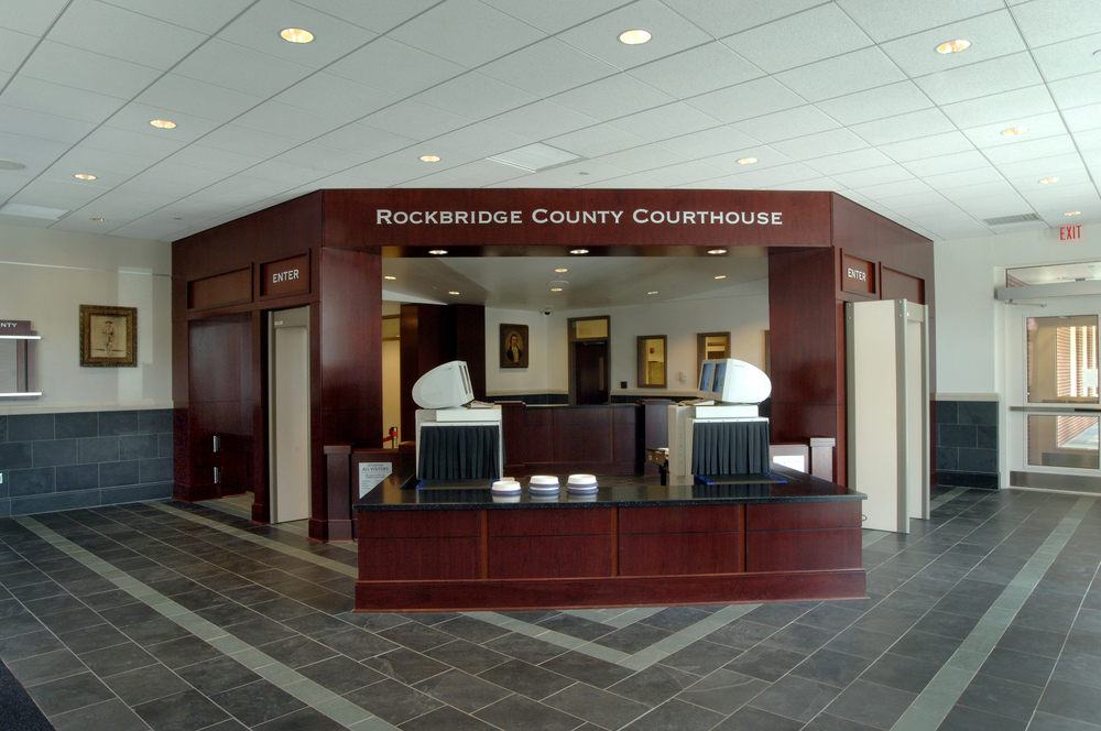 Rockbridge County Courthouse Interior