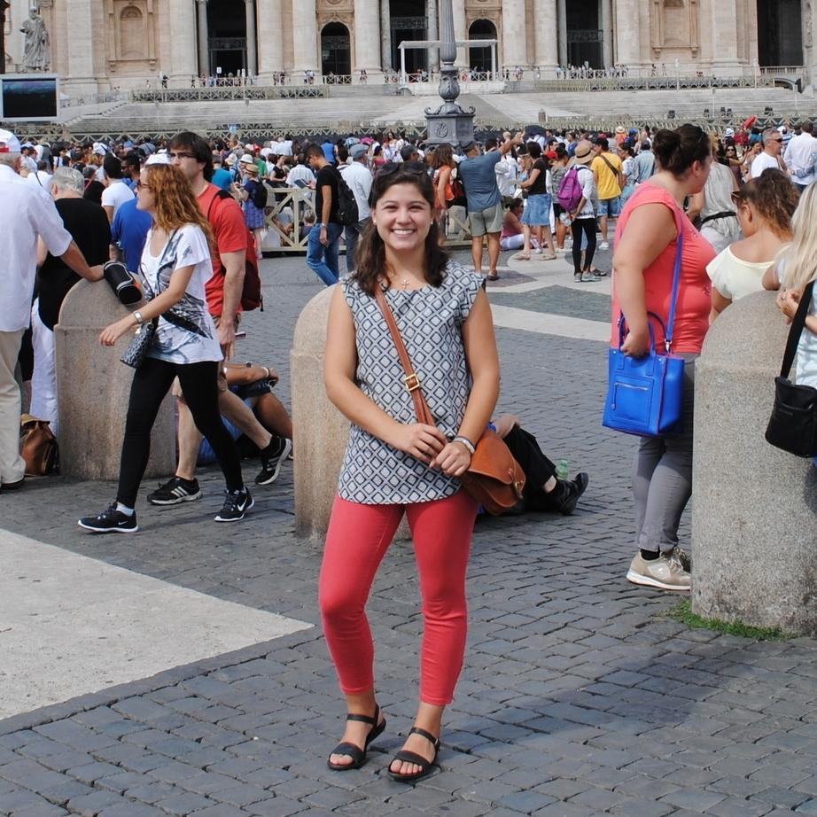 Maria Hurtado, 2015 Student Grant Recipient