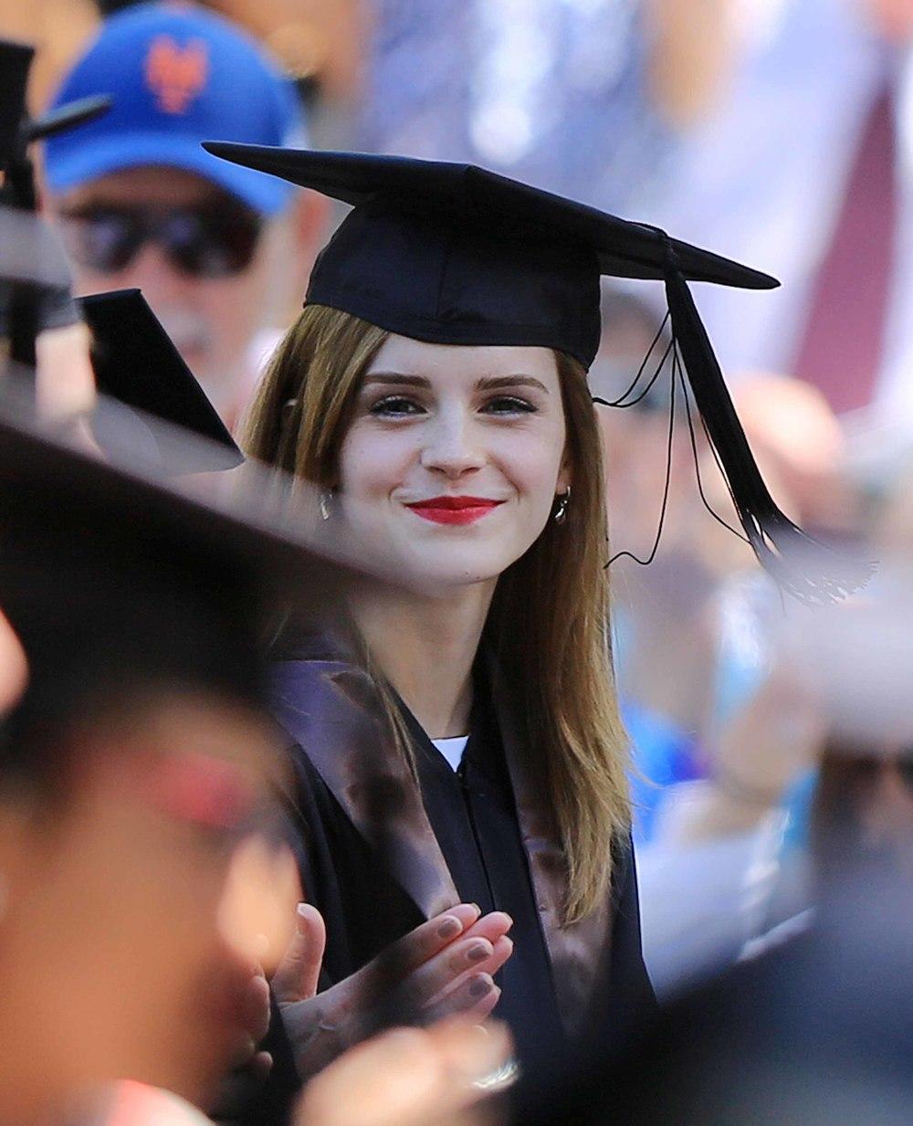 """<a href=""""http://www.totallyemmawatson.com/gallery/events/2014/graduation"""">Graduation</a>"""