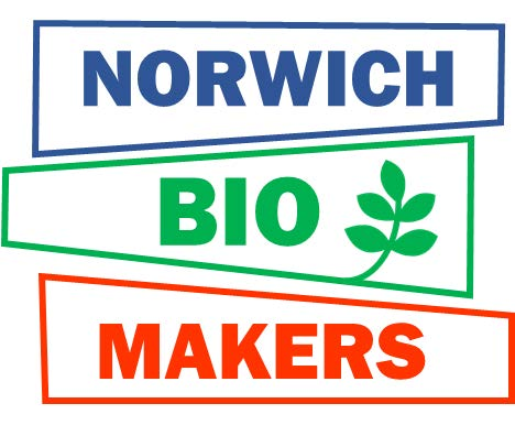 Norwich Biomakers meetups   An interdisciplinary network exploring the cross-over of biology with design, technology, engineering, electronics, software, art and much more. A place to learn about the latest technologies, share ideas and skills and shape projects.    https://www.meetup.com/Norwich-Biomakers/