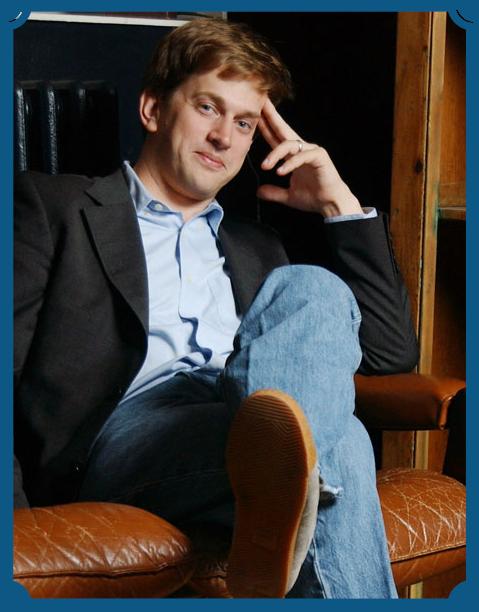 Portait of author Stephen Marche