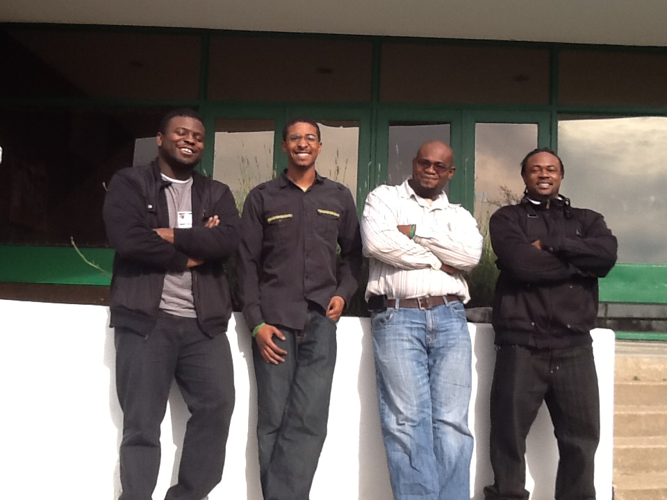 Our Founders: Jarious Bush, Josh Outsey, Stan Johnson, & Jerome Johnson