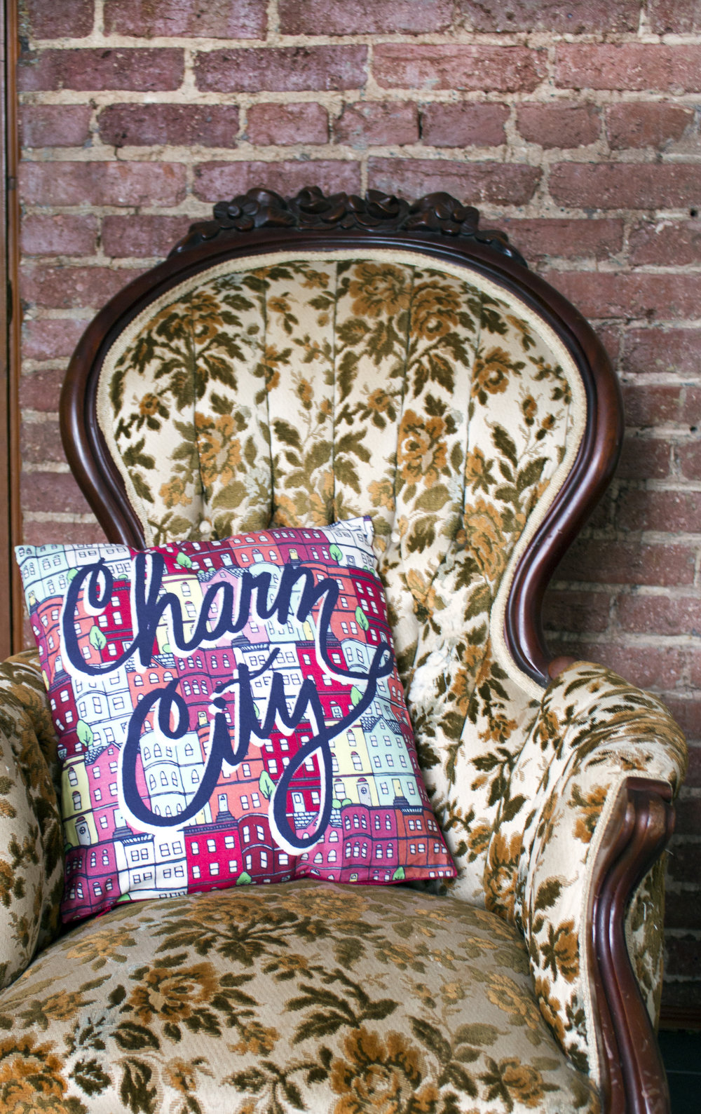 Charm City Pillow for Caravanserai