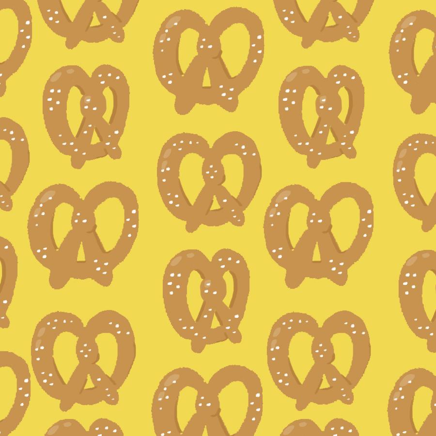 Pretzels on Mustard