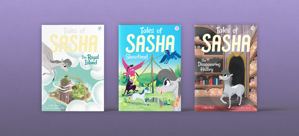 Tales of Sasha Series - Designed and Art Directed by Steph StilwellSeries Logo Design by David DeWittIllustrated by Paco SordoLittle Bee Books
