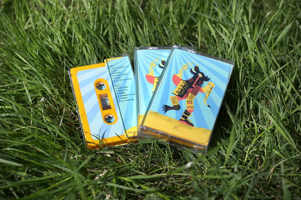 Fosterbeats - 'The SunShakers Tape' (LIMITED EDITION CASSETTE)