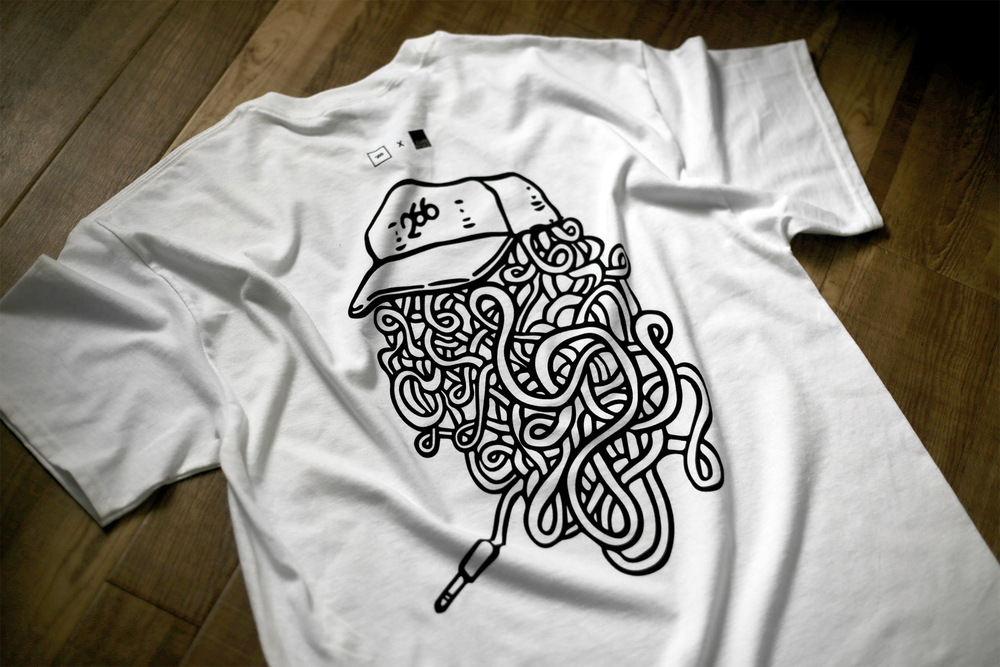 TwoSixtySix  X  Cube Space #LoopLife Celebration Tee 'WIRED'